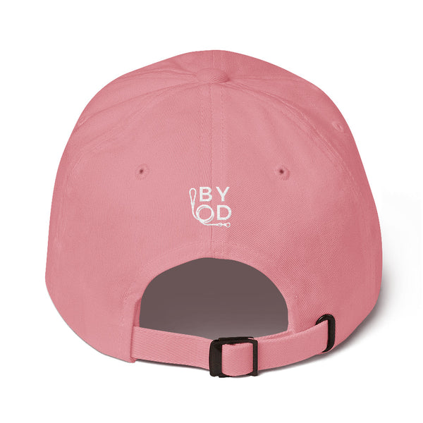 BYOD Dog Mom Hat Pink