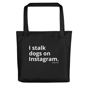 Dog Mom Tote Bag