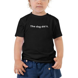 Toddler Dog Shirt