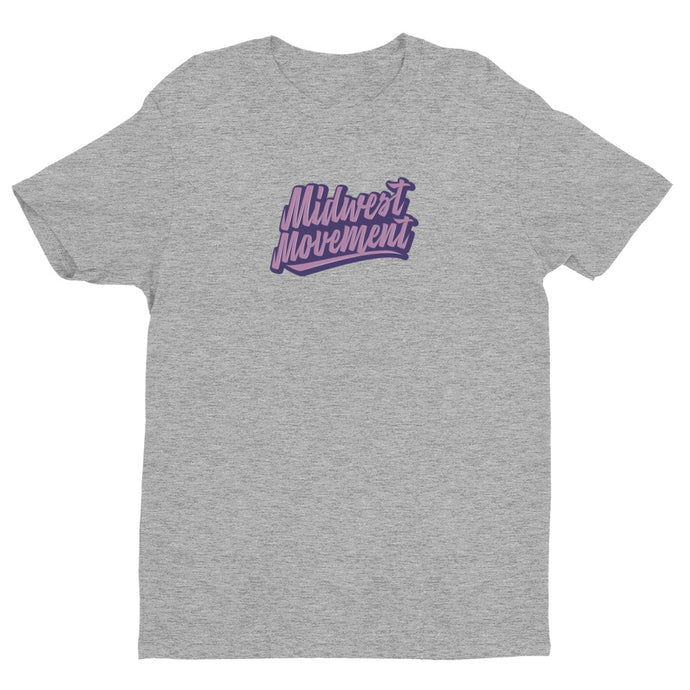 Midwest Movement Tee Gray/Pink