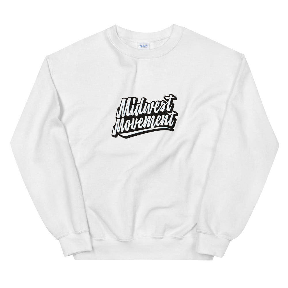 Midwest Movement Sweatshirt White