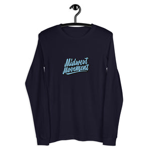 MWM Blue Long Sleeve Tee