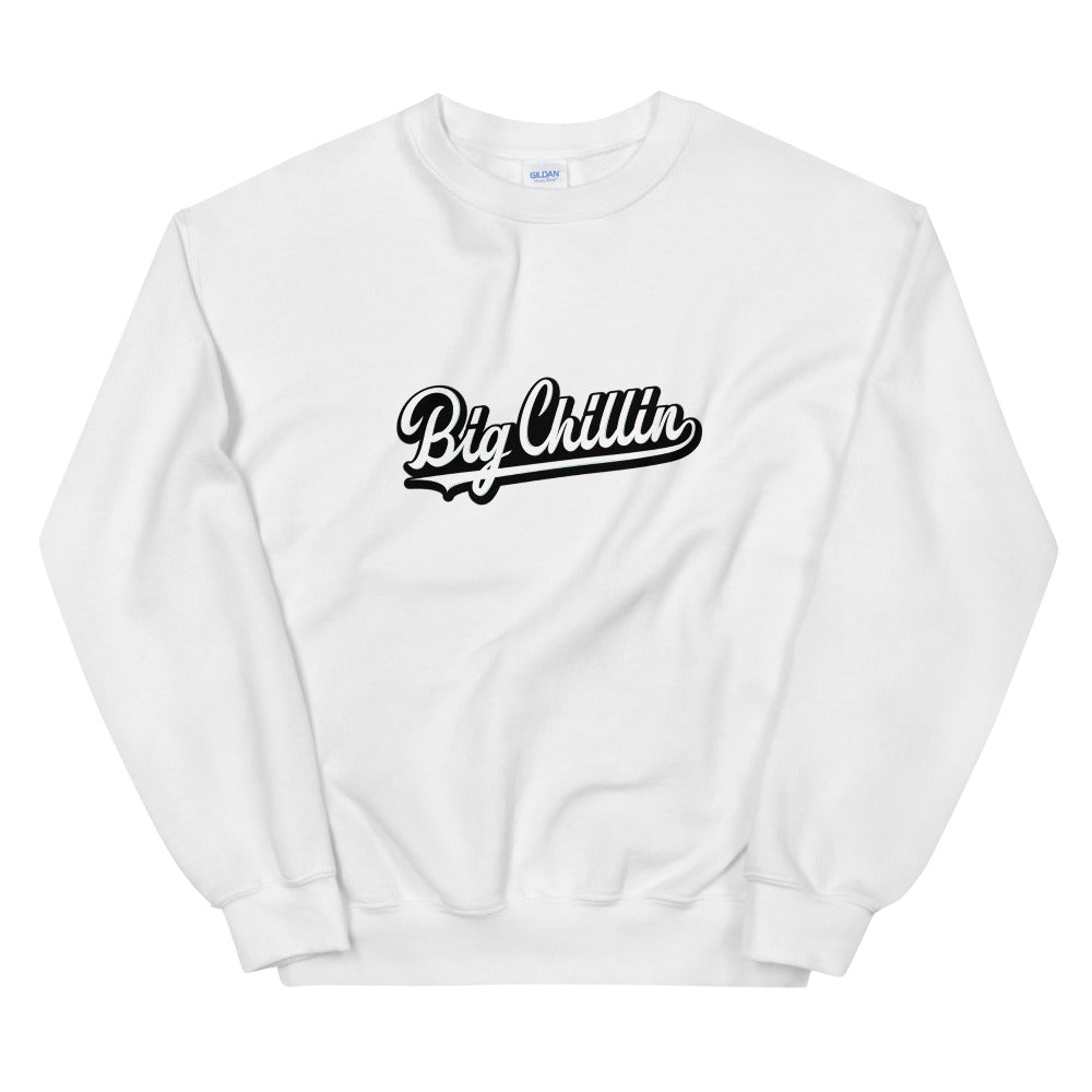 Big Chillin Sweatshirt White