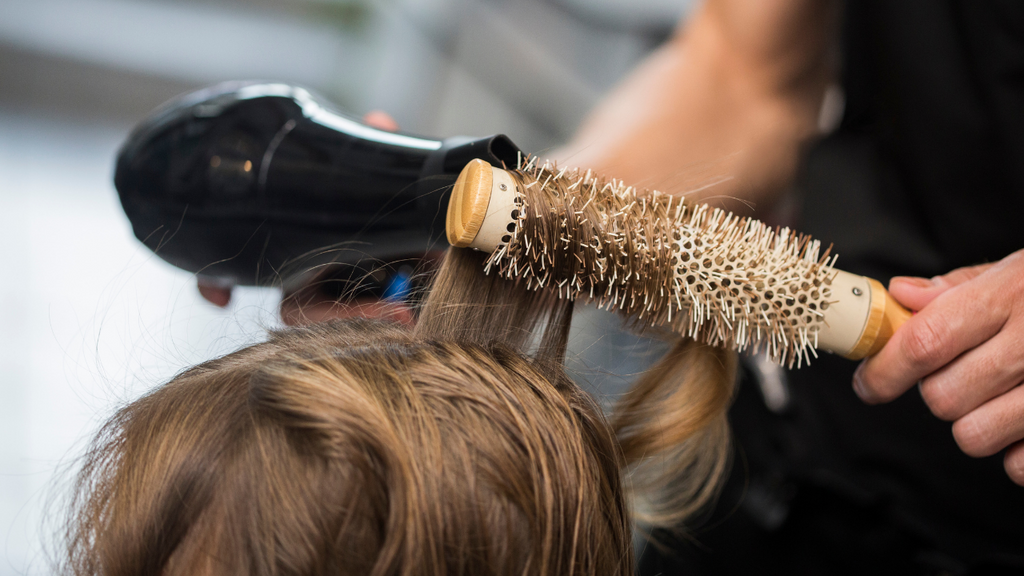 Hair styling with heat