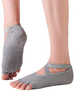 Yoga Socks for Women Non-Slip Grips & Straps. For Yoga Class, Pilates, Ballet, Workout. Urban Fit Makes It Right!