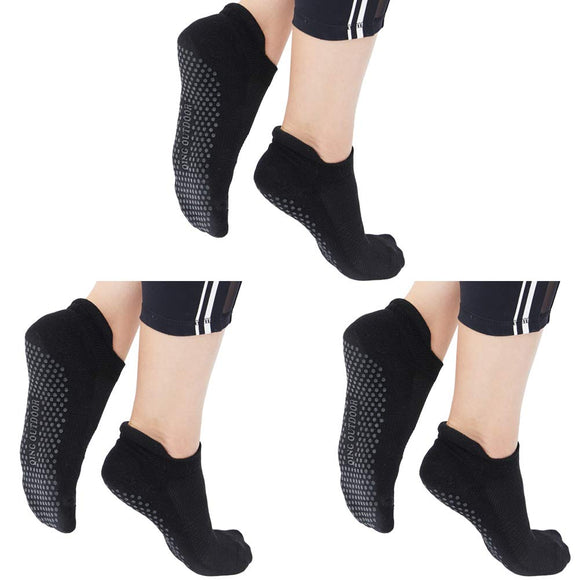 Yoga Socks for Women Non Skid Slipper Socks with Grips Barre Socks Pilates Socks for Women