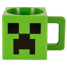 Load image into Gallery viewer, Minecraft Plastic Creeper Face Mug - MCProHosting