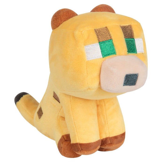 Minecraft Happy Explorer Baby Ocelot Plush - MCProHosting
