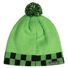Load image into Gallery viewer, Minecraft Creeper Sprite Pom Beanie - MCProHosting