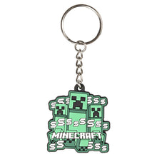 Load image into Gallery viewer, Minecraft Creeper Rush Keychain