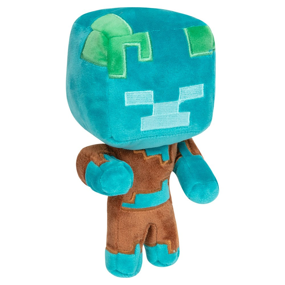 Minecraft Happy Explorer Drowned Plush