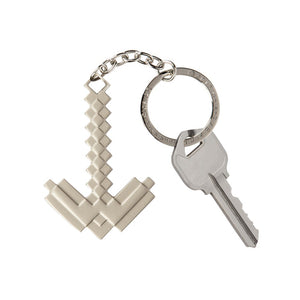 Minecraft Metal Pickaxe Keychain - MCProHosting