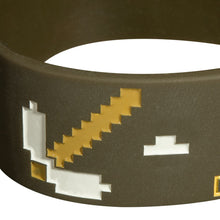 Load image into Gallery viewer, Minecraft Miner Rubber Bracelet