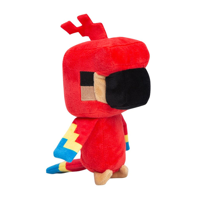 Minecraft Happy Explorer Parrot Plush
