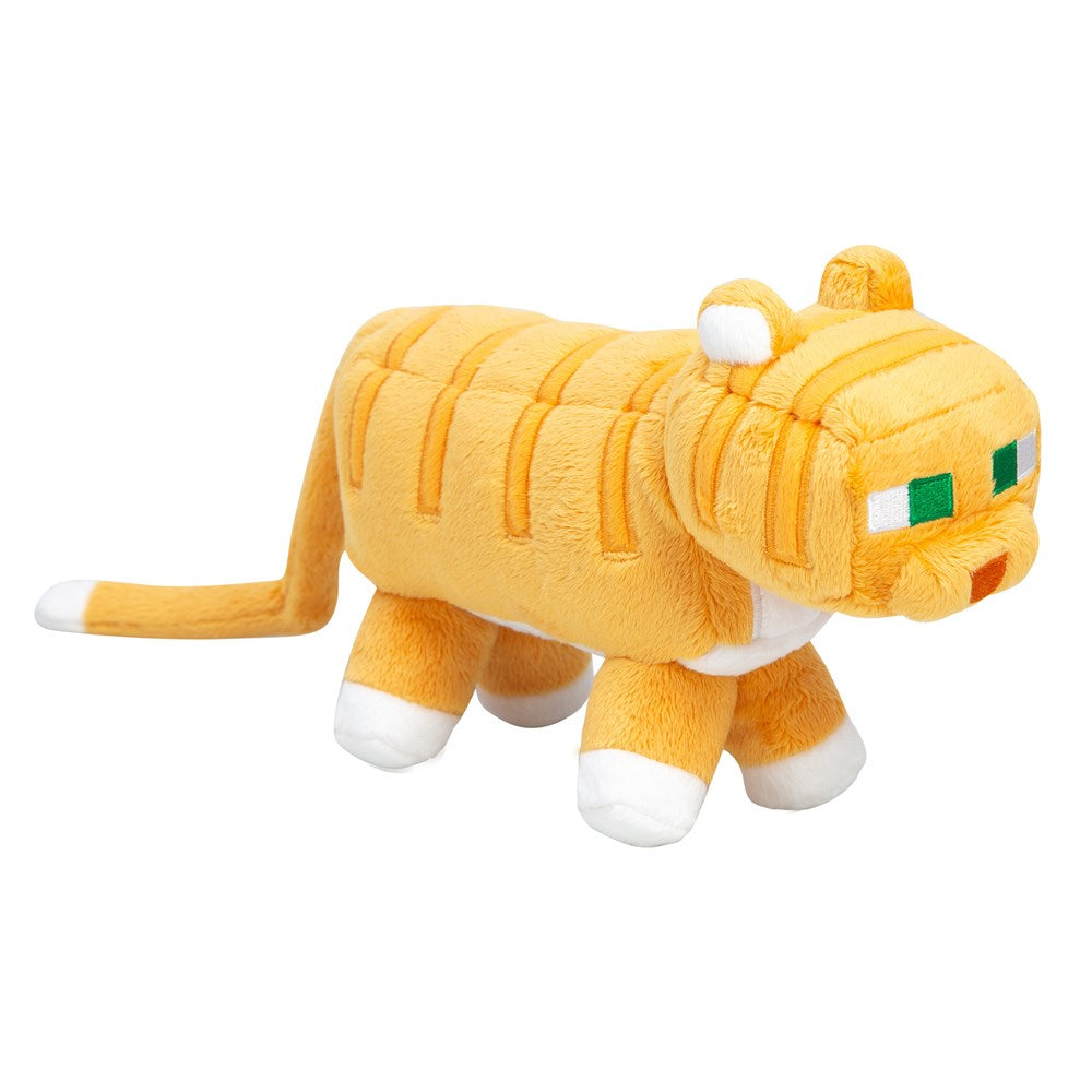 Minecraft Adventure Tabby Cat Plush - MCProHosting