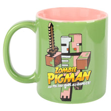 Load image into Gallery viewer, Minecraft Zombie Pigman Ceramic Mug - MCProHosting