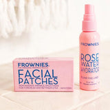 Bundle - Forehead & Between Eyes Wrinkle Patches with Rose Water Spray