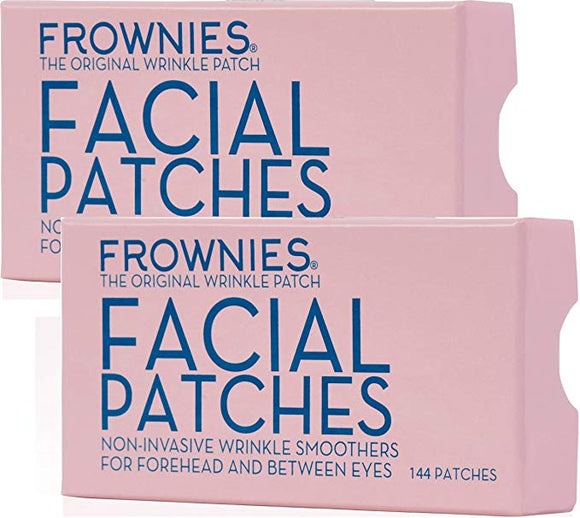 Twin Pack - Frownies Forehead & Between Eyes Wrinkle Patches