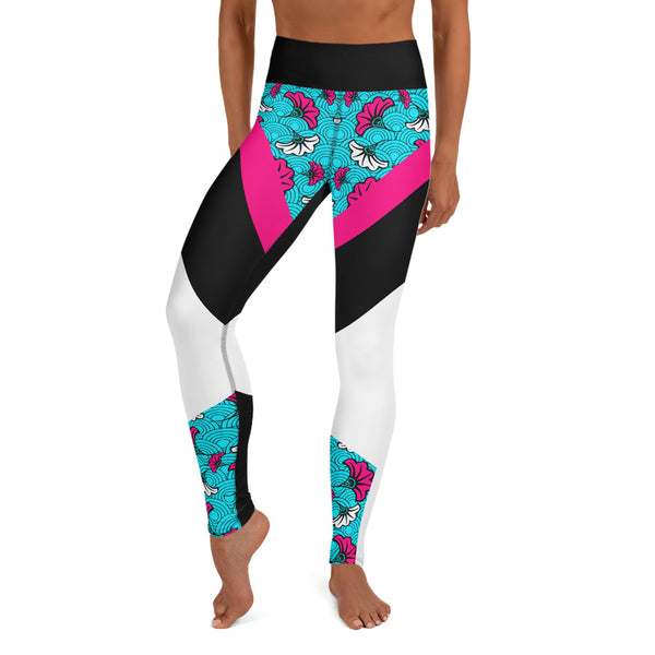 legging patchwork wax - face
