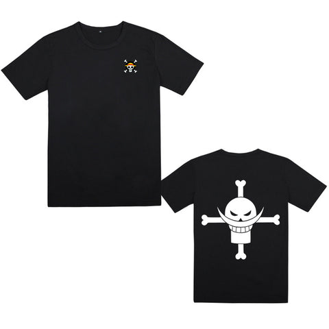 T-Shirt One Piece Jolly Roger Mugiwara et Barbe Blanche