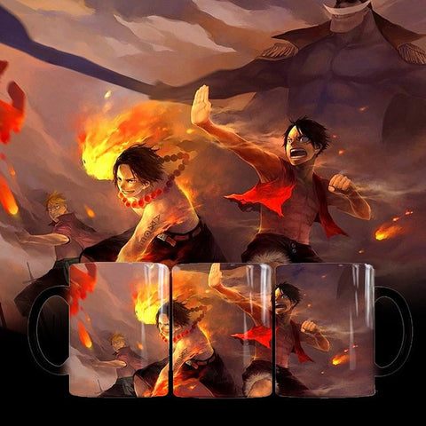 Mugs One Piece Luffy et Ace