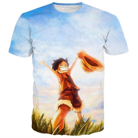 Tee Shirt One Piece Luffy