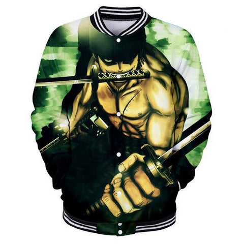 Veste Teddy One Piece Roronoa Zoro