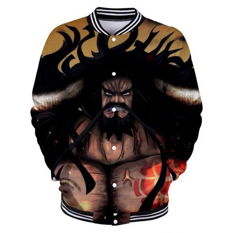 Veste Teddy One Piece Kaido