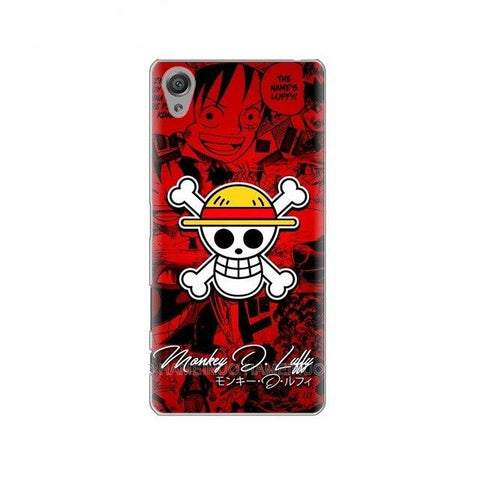 Coque One Piece Sony Jolly Roger