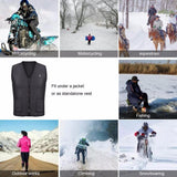 USB Infrared Heating Vest Jacket (Thin version)