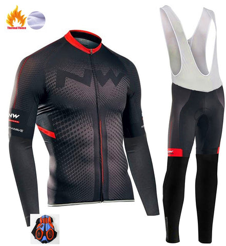 Professional Winter Cycling outfit