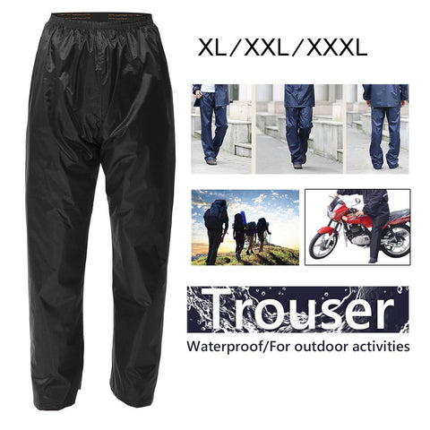 Waterproof rain pants for bikers
