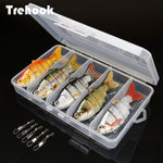 5pcs Sinking Crankbaits Fishing Kit (Artificial Bait - Hard Lure Swimbait)
