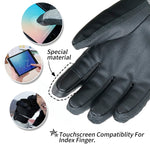 Waterproof, warm and touchscreen capable Ski Gloves