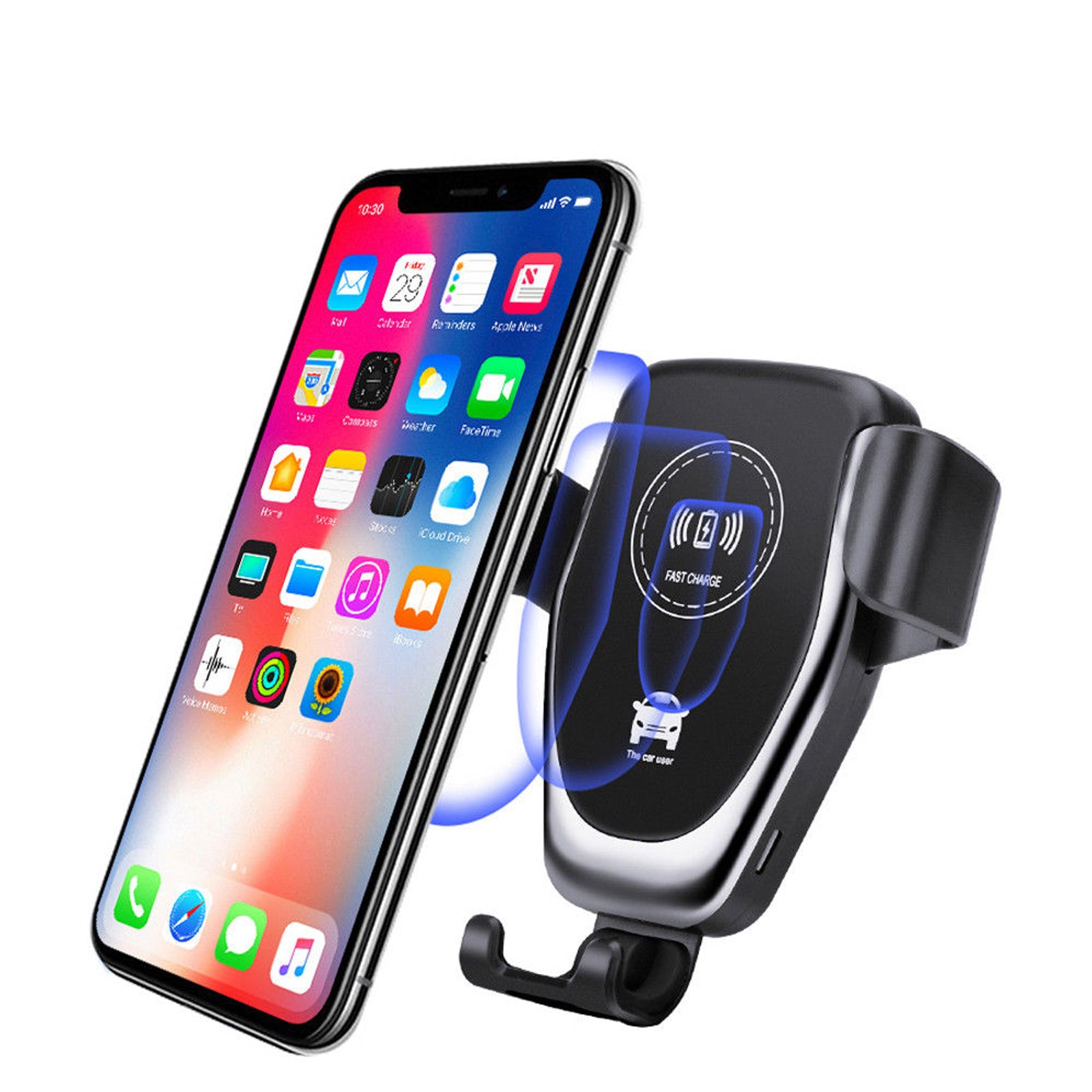 Lightning Clamp Car Charger for Smartphones