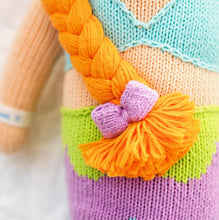 Load image into Gallery viewer, Cuddle + Kind - Isla the Mermaid, Hand Knit Doll - Little 13""