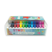 Load image into Gallery viewer, Ooly - Stars of the Sea Starfish Crayons - Set of 16