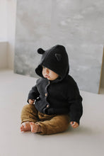 Load image into Gallery viewer, Jamie Kay Knit Bear Cardigan - Shadow Marle