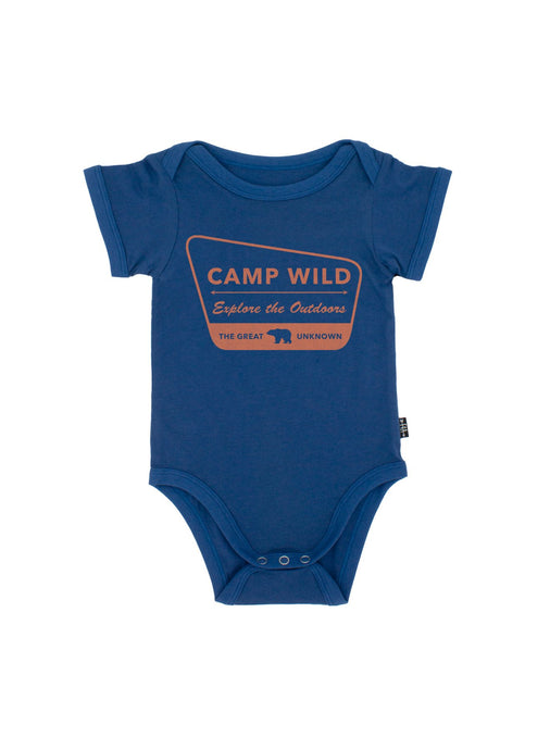 Camp Wild One Piece - Navy