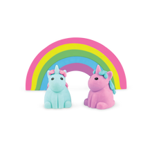 Load image into Gallery viewer, Unicorn Strawberry Scented Erasers - Set of 5