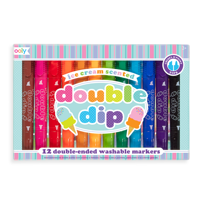 Olly Double Dip Double Ended Scented Markers
