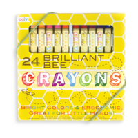 Olly Brilliant Bee Crayons - Set of 24