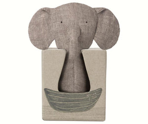 Maileg Noah's Friends - Elephant Crinkle Toy