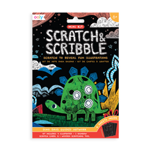 Load image into Gallery viewer, Mini Scratch & Scribble Art Kit