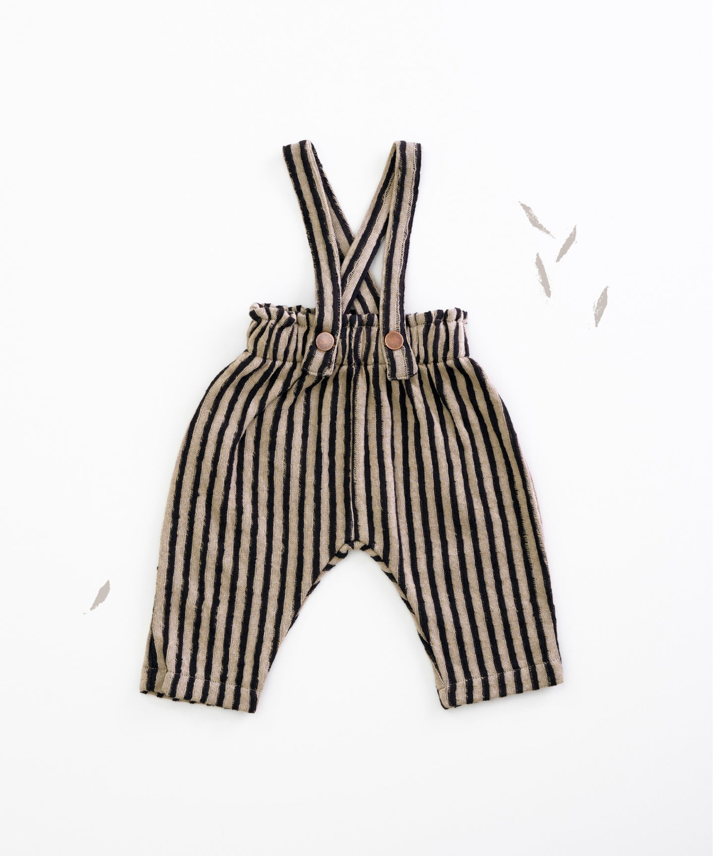 Play Up - Organic Striped Suspender Trousers - Jeronimo