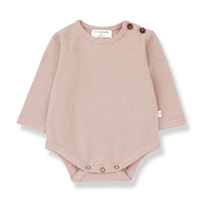 1 + in the family - Aston Bodysuit - Rose