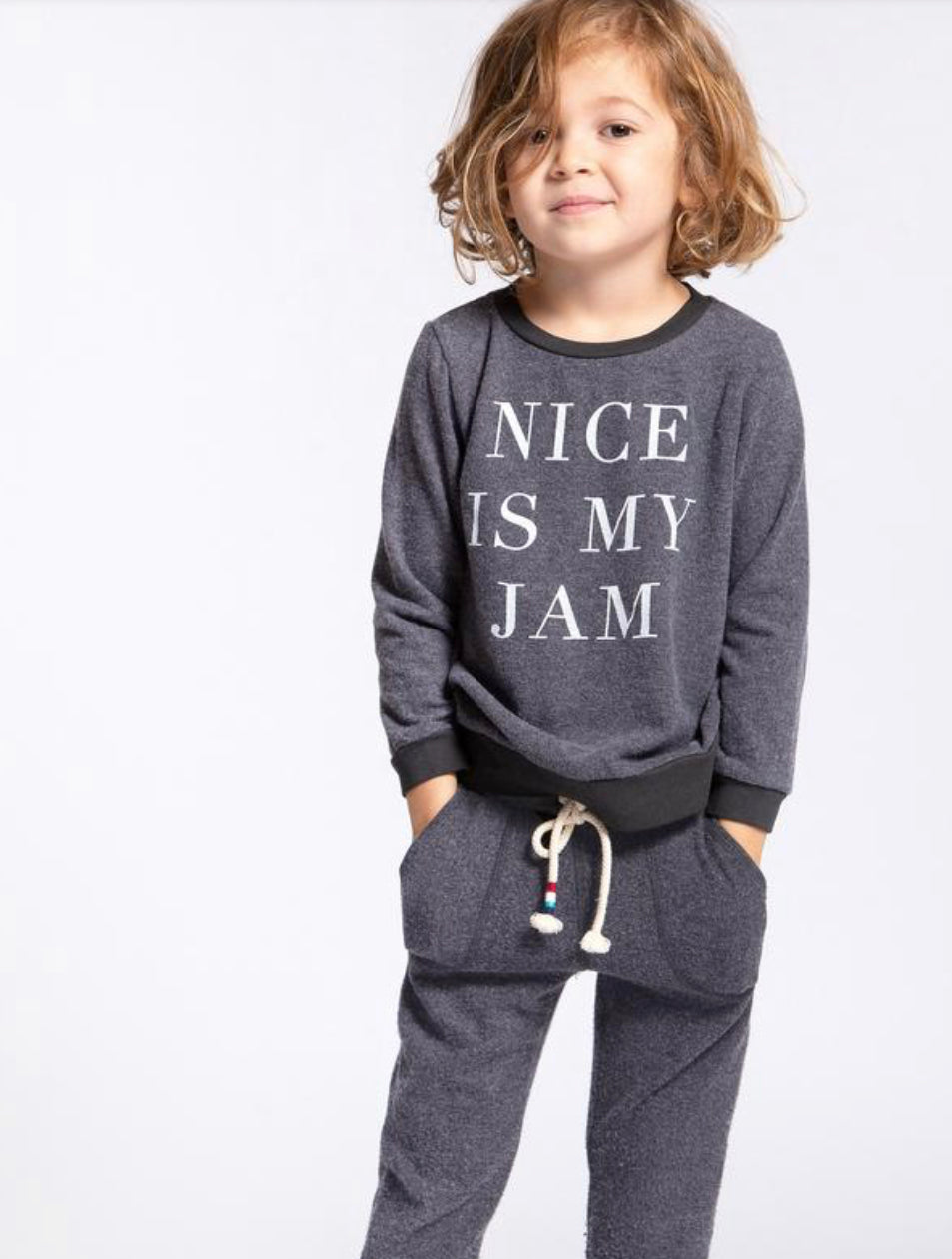 Sol Angeles Nice Is My Jam Pullover Infant
