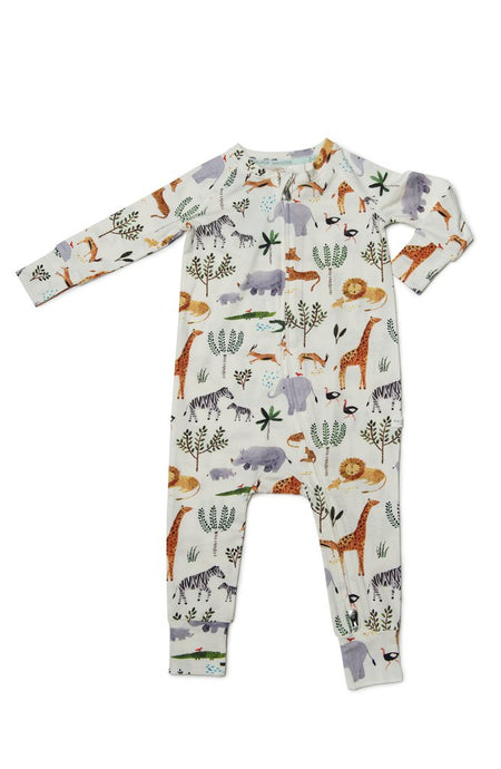 Loulou Lollipop - Sleeper in TENCEL - Safari Jungle