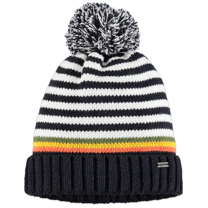 Babyface - Boys Knit Hat - Dark Blue