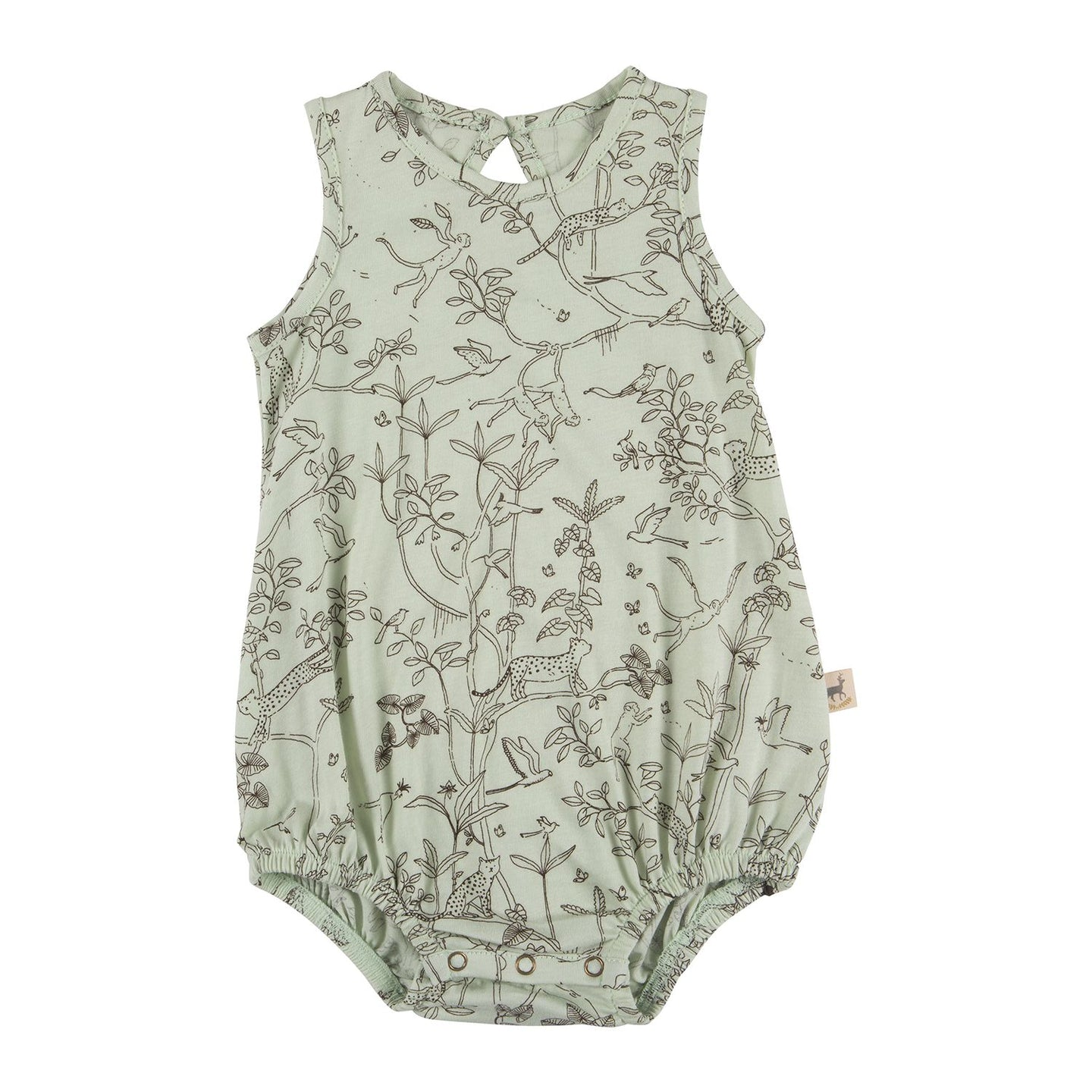 Red Caribou Organic Baggy Onesie - The Canopy